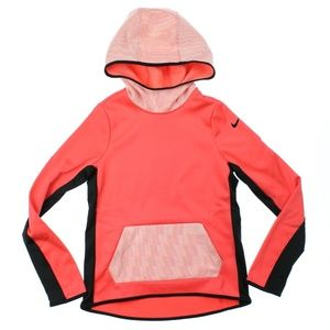 Nike Therma Fit Pullover Hoodie Shirt Ember Glow
